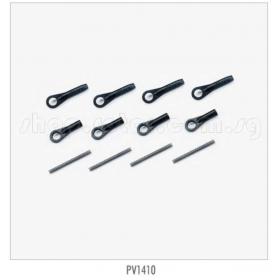 PV1410 THUNDER TIGER 140 Degree Linkage Rod, for Raptor [4855] Titan X50 Option Part, [4856] Titan X50 Torque-tube version