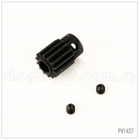 PV1427 THUNDER TIGER Motor Pinion 14T, X50E, for Raptor [4757] Titan X50 Flybarless Electric Option Part