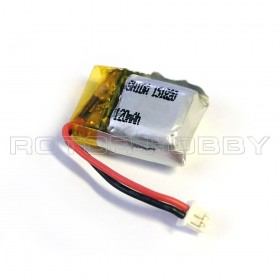 3.7V 120mAh LiPo Battery with JST-PH1.25 connector