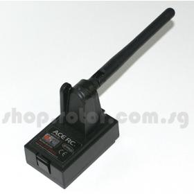 AQ2254 THUNDER TIGER ACE RC 2.4GHz 6CH Transmitter RF Module System, for Innovator MD530 /EXPERT /Futaba radio 7U,8U,8J,9C,9Z,FN