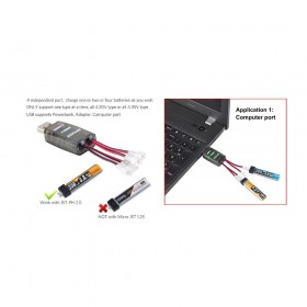CX40S 1S LiPo Battery USD Charger JST-PH2.0