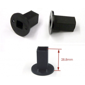 EX1375 EXCELLENCE Motor Mount (Black), Inner Diameter 10x10mm
