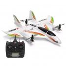 XK X450 AVIATOR VTOL 2.4G 6CH EPO 450mm 3D/6G Mode Switchable Aerobatics RC Airplane, with X8 S-FHSS radio RTF, Mode 2