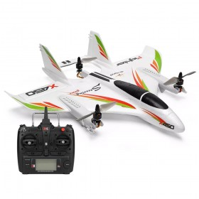 XK X450 AVIATOR VTOL 2.4G 6CH EPO 450mm 3D/6G Mode Switchable Aerobatics RC Airplane, with X8 S-FHSS radio RTF, Mode 2