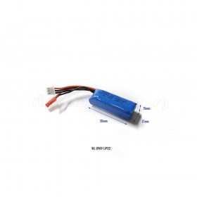 7.4V 450mAh LiPo Battery, 20C, JST, White Balance Connector