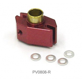 PV0808R THUNDER TIGER Metal Washout Base (Red), for mini Titan E325 Option Part / E325 SE / E325 V2 / V2 SE