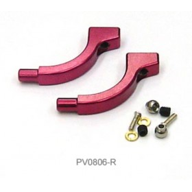 PV0806R THUNDER TIGER Metal Flybar Control Arm (Red), for [4710] mini Titan E325 Option Part