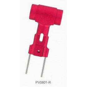 PV0801R THUNDER TIGER Metal Rotor Hub (Red), for mini Titan E325 Option / [4711] mini Titan E325 SE / [4712] mini Titan E325 V2