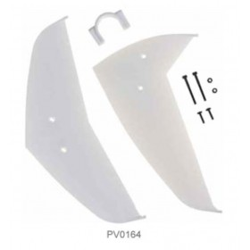 PV0164 THUNDER TIGER Tail Fin, for Raptor R60/R90