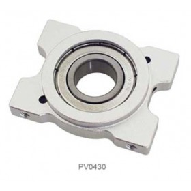 PV0430 THUNDER TIGER Metal Upper Bearing Block (Al), For Raptor R60/90/90SE [Suitable for discontinued PV0287]