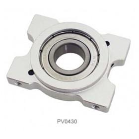 PV0430 THUNDER TIGER Metal Upper Bearing Block (Al), For Raptor R60/90/90SE [Suitable for discontinued PV0287]