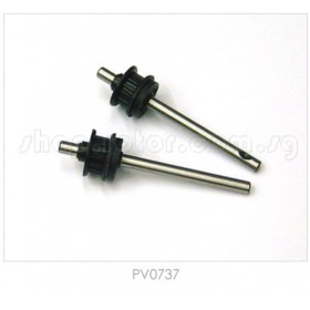 PV0737 THUNDER TIGER Tail Rotor Shaft (2pcs), for [4710] mini Titan E325
