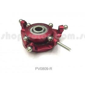 PV0809R THUNDER TIGER Metal Swashplate (Red), for mini Titan E325 / E325 SE / V2