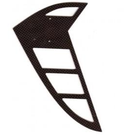 TT5 Carbon Tail Fin, Vertical, for Raptor 60/90 3D