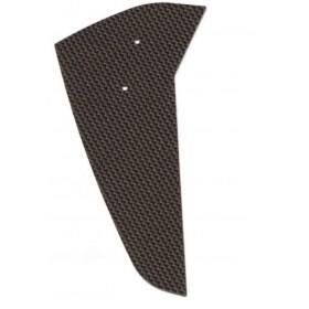 TT11 Carbon Fiber Tail Fin, for Raptor 30/50