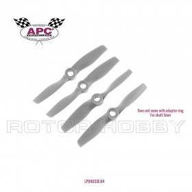 4x3.3E (2) CCW & 4x3.3EP (2) CW Quad-copter Bundle for Electric Motor | 4x3.3inch