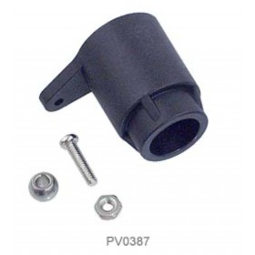 PV0387 THUNDER TIGER Heli Throttle Lever (S), For Raptor 50 / R50 Titan Option (Note: This item may be black or grey colour.)