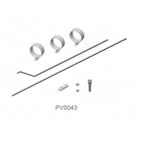 PV0043 THUNDER TIGER Tail Control Rod, for Raptor 30