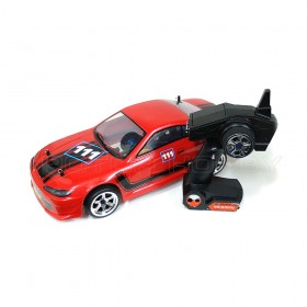 1/10th scale PRO Brushless 4WD RC Drift Car RED CHEETAH with Carbon Fiber Parts RTR