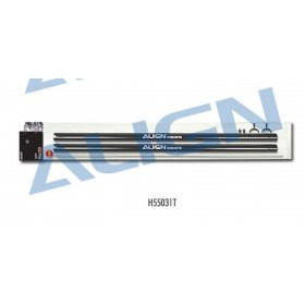 H55031T ALIGN Tail Boom (2pcs), for T-REX 550E