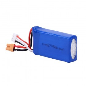 11.1V 1000mAh LiPo Battery with XT30 compatible plug for XK X450 airplane
