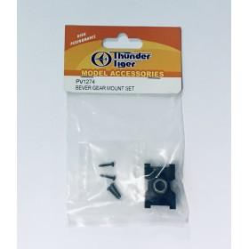 PV1274 THUNDER TIGER Bever Gear Mount Set, for [4713] mini Titan V2 SE (Torque-tube version) / [4717-] mini Titan E360 FBL ARF