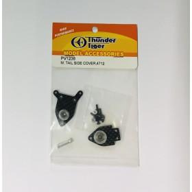 PV1238 THUNDER TIGER Metal Tail Side Cover, for [4712] mini Titan E325 V2 | M. Tail Side Cover