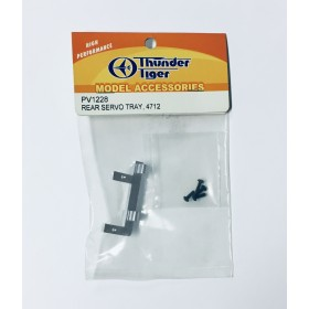 PV1228 THUNDER TIGER Rear Servo Tray, for [4712] mini Titan E325 V2