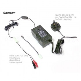 6V / 12V Lead Acid Automatic Battery Charger