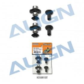 H25G001XXT ALIGN M0.4 Torque Tube Front Drive Gear Set 28T, for T-REX 250 PRO