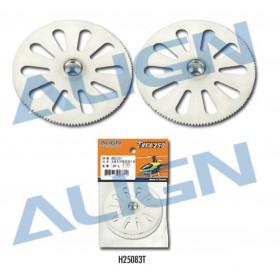 H25083T ALIGN Main Drive Gear 120T (2pcs), for T-REX 250