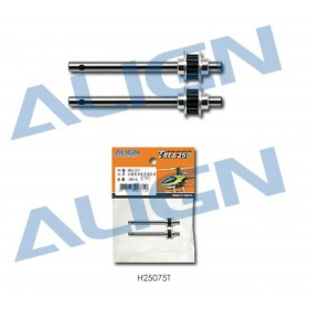 H25075T ALIGN Metal Tail Rotor Shaft Assembly, for T-REX 250