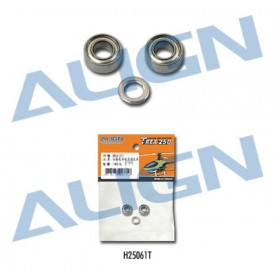 H25061T ALIGN for Bearings 3x6x2.5mm (MR63ZZ) (2pcs) With Washer 3x4.8x0.6mm, for T-REX 250
