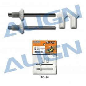 H25132T ALIGN Torque Tube Rear Drive Gear Set, for T-Rex 250