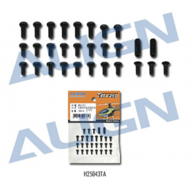 H25043TA ALIGN Frame Hardware / screws, for T-REX 250