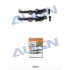 H25011TA ALIGN Metal Washout Control Arm (Black), for T-REX 250/250SE