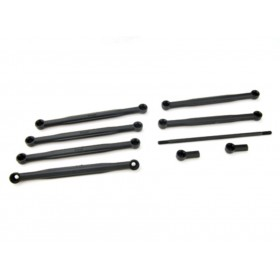 PD9208 THUNDER TIGER Camber Link Tie Rods / Camber Links, TA-ET, for [6537] Sparrowhawk XT