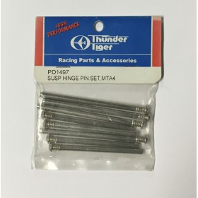 PD1497 THUNDER TIGER Suspension Hinge Pin Set, MTA-4, for MTA-4 S28 / MTA-4 Sledge Hammer S50 / eMTA / eMTA Kaiser