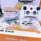 LiteBee Brix DIY Building Block Clip Drone for STEAM Education