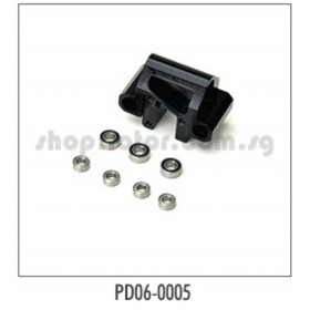 PD06-0005 THUNDER TIGER Steering Head With Bearings, for [6573] SB-5 Electric Racing Bike