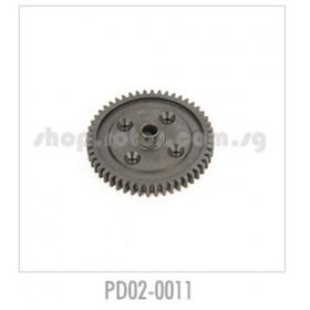 PD02-0011 THUNDER TIGER Spur Gear (50T), 1/8, for [6401] MT-4 G3, [6400] EB-4 G3, [6402] ER-4 G3
