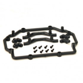 PD09-0005 THUNDER TIGER Body Tray, for [6543] Tiger Crawler