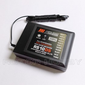 JR Prop RS10DS PLL-Synthesized Dual Conversion 10-Channel SPCM Receiver (Choose from 35mHz / 36mHz / 40mHz)