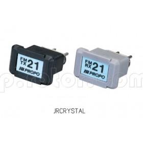 JR Propo FM Crystal Set: Tx and RX (72MHz) Transmitter receiver crystals