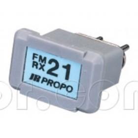 JR Propo FM Crystal RX (72MHz) Receiver crystal xtal