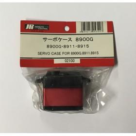 JR Propo Servo Case (Red Heatsink), for DS8900G, DS8911, DS8915