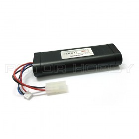 Heng Long 7.4V 1800mAh Li-Ion Battery Pack, Hard Casing with Tamiya connector with white balance connector, 133x46x24mm, 126g