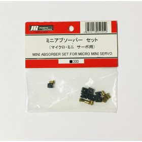 JR Propo Mini Absorber Set, for Micro Mini Servo