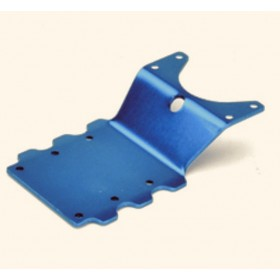 PD1514 THUNDER TIGER Rear Skid Plate (Blue), MTA-4, for [6228F] MTA-4 S28, [6225F] MTA-4 Sledge Hammer S50