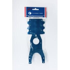 PD1510 THUNDER TIGER Front Skid Plate (Blue), MTA-4, for [6228F] MTA-4 S28, [6225F] MTA-4 Sledge Hammer S50
